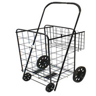 Affordable and Heavy Duty Folding Shopping Carts WITH Extra Basket