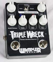 Wampler Pedals Triple Wreck Distortion