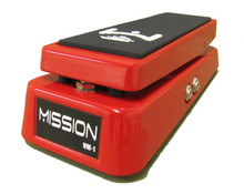 Mission Engineering VM-1 Volume Pedal with Mute & Tuner Out - red