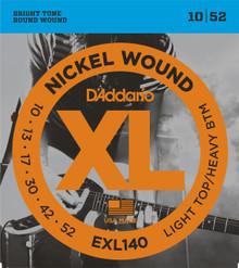 D'addario EXL140 Light Top/Heavy Bottom Electric Guitar Strings