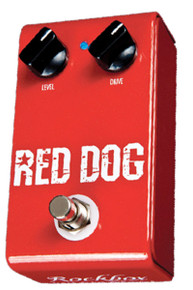 Rockbox Electronics Red Dog Overdrive / Distortion pedal