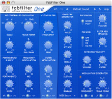 FabFilter One Synth Plug-in - download