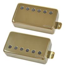 EMG 57 / 66 Active Alnico V Humbucker set - gold