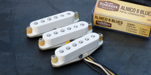 Tonerider TRS4 Alnico II Blues Strat set - white