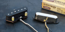 Tonerider TRT3 Alnico II Blues Tele set - nickel