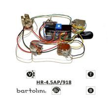 Bartolini HR-4.5AP Pre-Wired 2 Band EQ Active/Passive Vol, blend, individual bass & treble