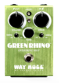 Way Huge Electronics WHE-207 Green Rhino MKIV Overdrive pedal