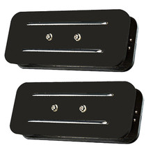 JBE Pickups P90 Soapbar pickup set - black