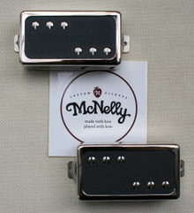 McNelly Pickups Stagger Swagger Humbucker set - open nickel cover