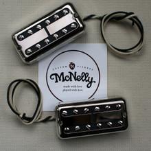 McNelly Pickups SparkleTron Humbucker set - nickel