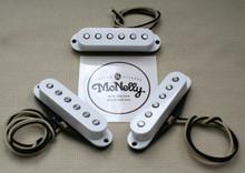 McNelly Pickups Nostalgia Strat Pickup set - white