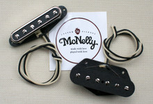 McNelly Pickups T-Bar P90 Style Tele Pickup set - nickel