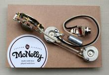 McNelly Pickups Prewired Tele Harness - single / single, 3 way switch