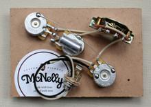 McNelly Pickups Prewired Strat Harness, 250k Pots, no treble bleed