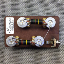 "Emerson Custom Les Paul Long Shaft 3/4"" Prewired Kit"