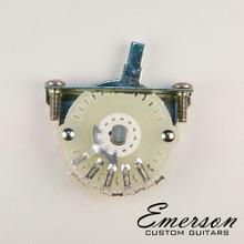 Emerson Custom 4-Way Oak Grigsby Lever Switch