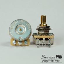 """Emerson Custom 250K Short (3/8"""") Split Shaft Pot"""
