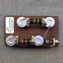 "Emerson Custom Les Paul Short Shaft 3/8"" Prewired Kit"
