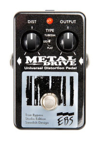 EBS Studio Edition Metal Drive High Gain Distortion / Overdrive pedal
