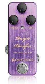 One Control BJF Designed Purple Plexifier Distortion pedal