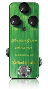 One Control BJF Persian Green Screamer pedal