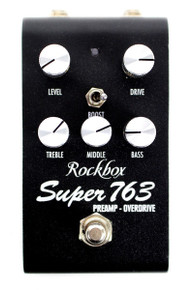 Rockbox Electronics Super 763 Preamp / Overdrive pedal