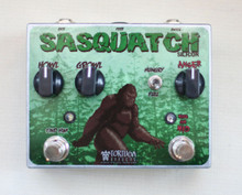 Tortuga Effects Sasquatch Dual Silicon Fuzz pedal