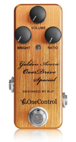 One Control BJF Designed Golden Acorn Overdrive Special pedal