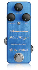 One Control BJF Designed Dimensions Blue Modulation pedal