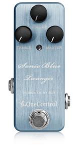 One Control BJF Sonic Blue Twanger Distortion pedal