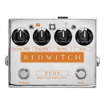 Red Witch Zeus Suboctave Bass Fuzz pedal