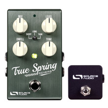Source Audio One Series True Spring Reverb pedal w/ Tap Switch