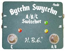 HomeBrew Electronics HBE Bytchn Swytchn A/B/C Switcher