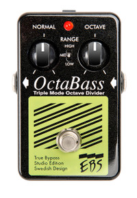EBS OctaBass Black Label Studio Edition Octave Divider
