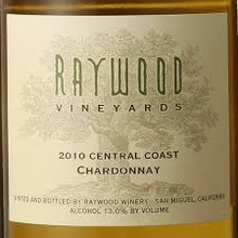 Raywood Vineyards Chardonnay (Central Coast)