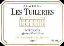 Chateau Les Tuileries Bordeaux