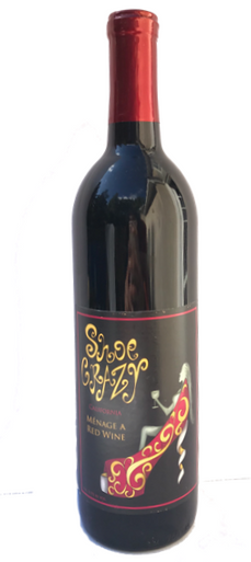Harmonious Blend of Zinfandel, Merlot and Syrah. Spice and Strawberry with a jammy finish
