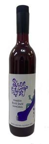 Shoe Crazy Wines Naked Blue Jazz Sangria
