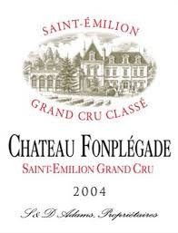 Chateau Fonplegade St. Emilion Grand  Cru