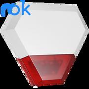 rok Wireless External Siren & Strobe - Powered by 12V