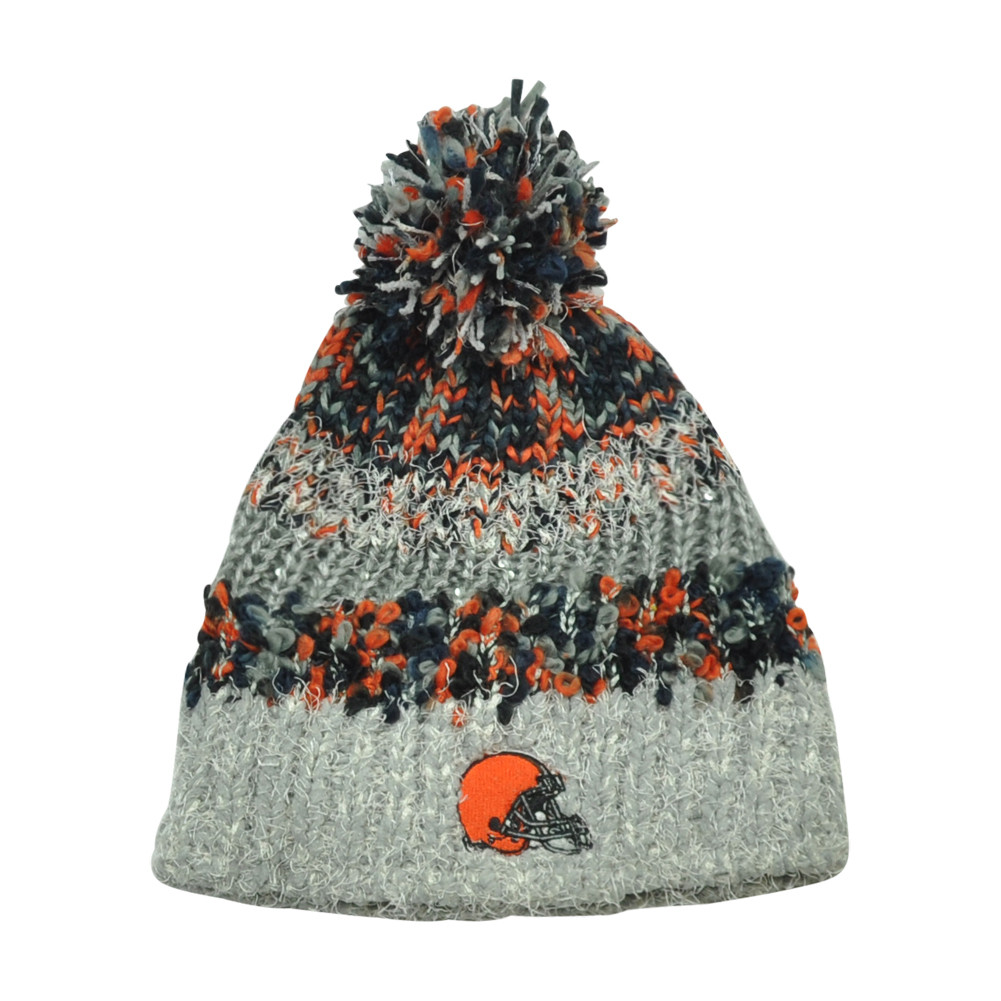 1012f24c6f5 ... Women Ladies Sequin Crochet Pom Beanie Knit Fleece. Price   17.95.  Image 1