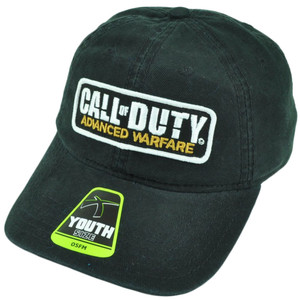 Call of Duty Advance Warfare Youth Snapback Black Video Game Hat Cap Relaxed