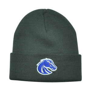 NCAA Boise State Broncos Dusy Grey Knit Toque Beanie Winter Hat Skully Cuffed