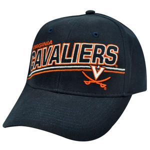 NCAA OFFICIAL VIRGINIA CAVALIERS NAVY BLUE CAP HAT ADJ