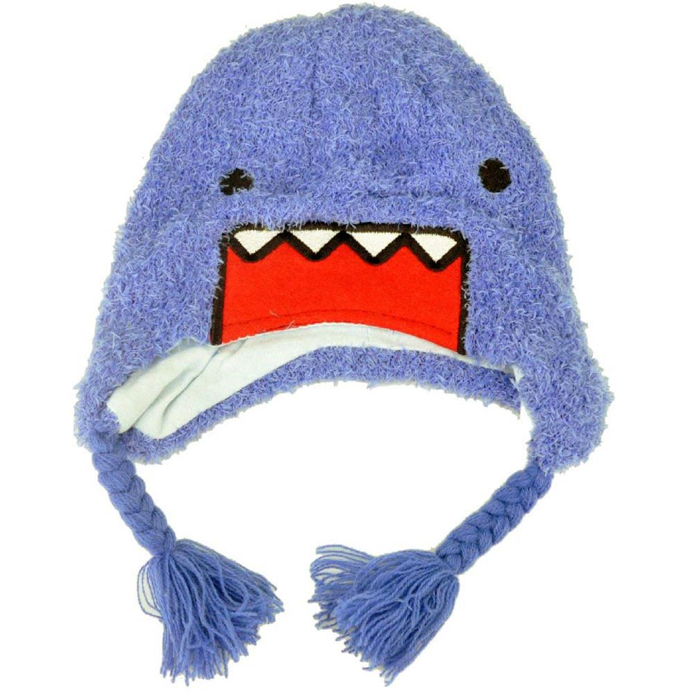 b84294a975c Domo Kun Japanese Faux Fur Face Plush Youth Purple Blue Peruvian ...