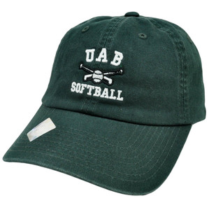 NCAA UAB Alabama Birmingham Blazers Softball Slouch Relaxed Style TOW Hat Cap