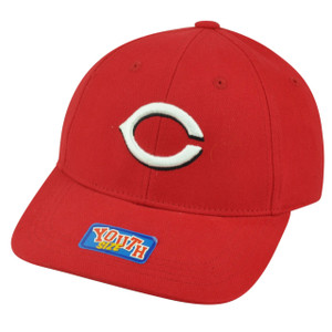 MLB Cincinnati Reds Youth Size Velcro Adjustable Fan Favorite Hat Cap Game Day