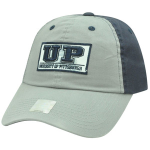 NCAA Starter Pittsburgh Panthers Garment Wash Slouch Sun Buckle Two Tone Hat Cap