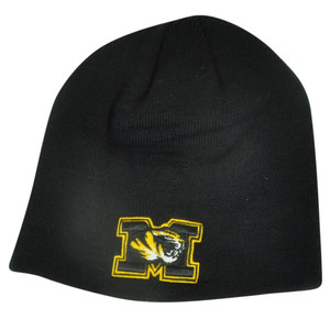 c886bb7b2da49 NCAA Missouri Tigers Top of the World Beanie Knit Cuffless Toque Black  Mizzou
