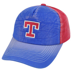 MLB American Needle Texas Rangers Mackenzie Distressed Faded Snapback Hat Cap